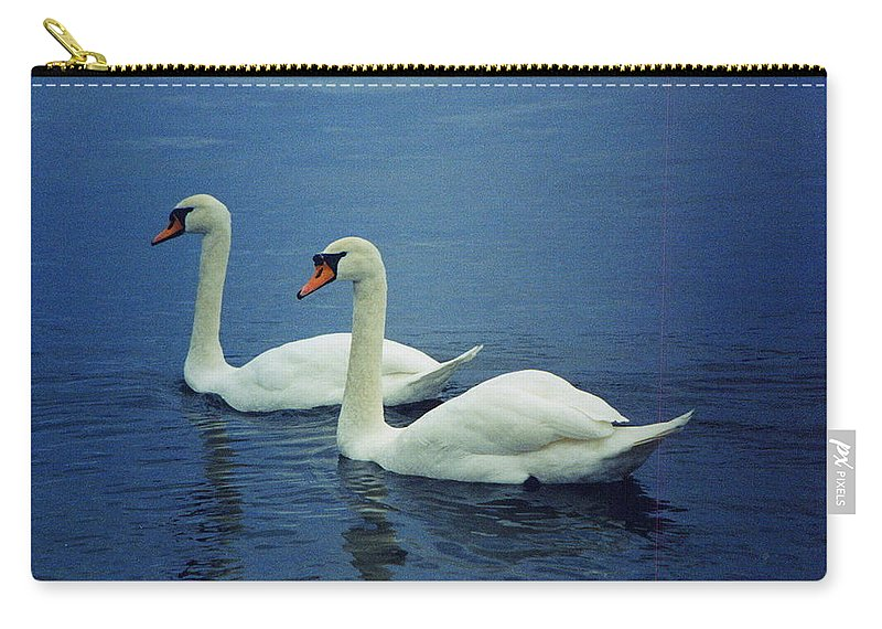 Love Carry-all Pouch featuring the photograph Two In Life by Paul Wilford