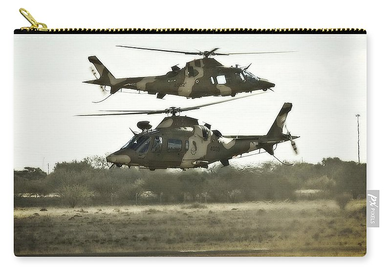 Agusta Aw109 Carry-all Pouch featuring the photograph Two by Paul Job