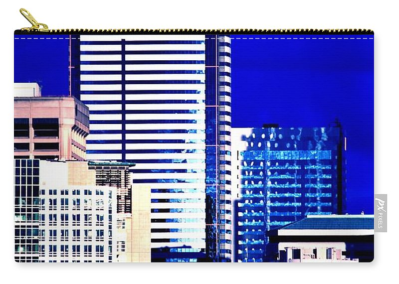Seattle Carry-all Pouch featuring the photograph Two Union Square by Benjamin Yeager