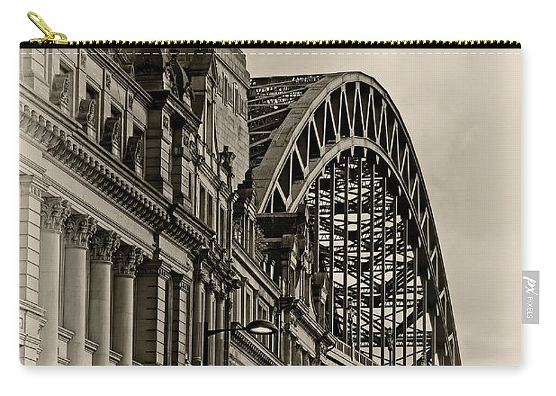 Tyne Bridge Carry-all Pouch featuring the photograph Tyne Bridge by David Pringle