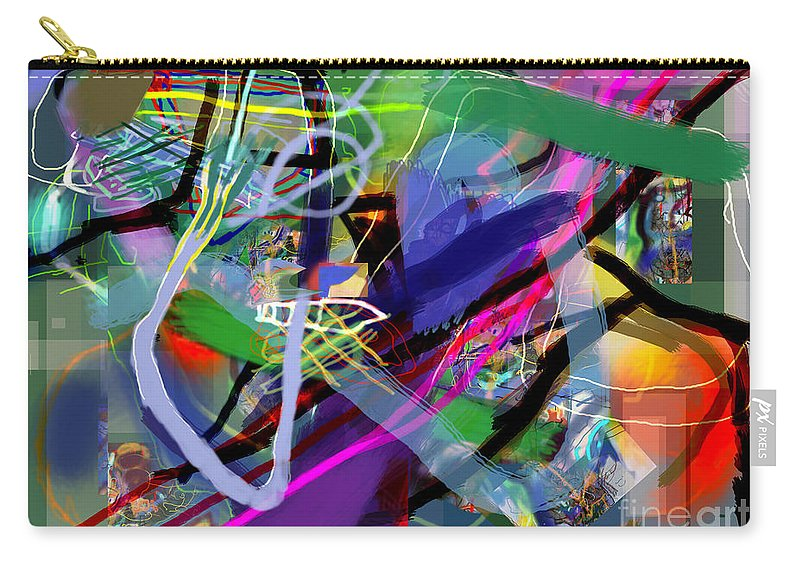 Torah Carry-all Pouch featuring the digital art Tzaddik 6e by David Baruch Wolk