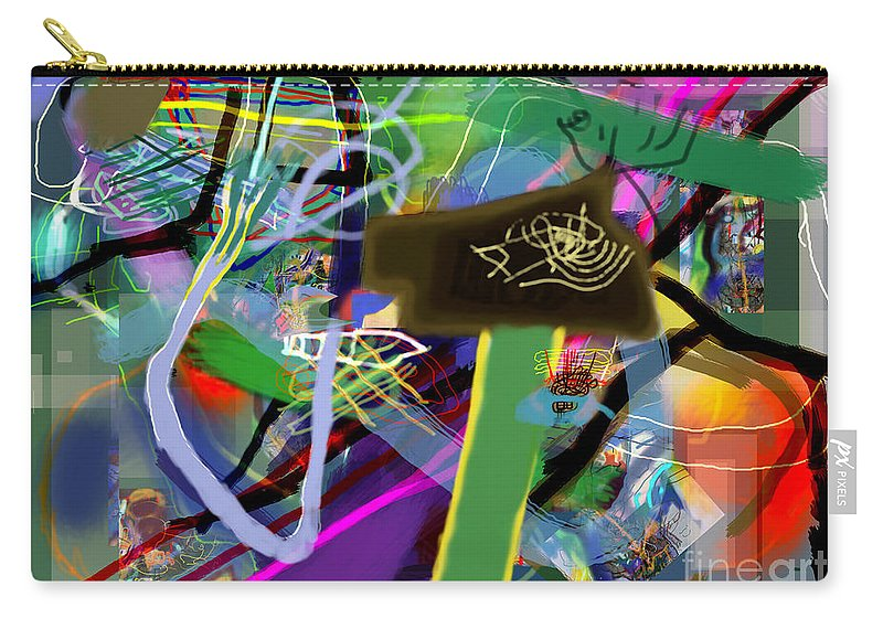 Torah Carry-all Pouch featuring the digital art Tzaddik 6g by David Baruch Wolk