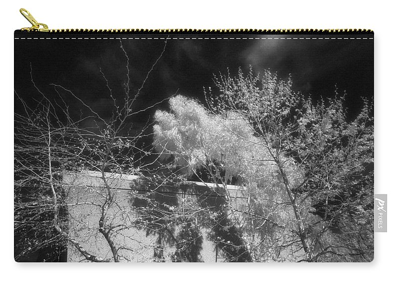 University Of California Carry-all Pouch featuring the photograph Uc Irvine Fine Arts Building by Mark Greenberg