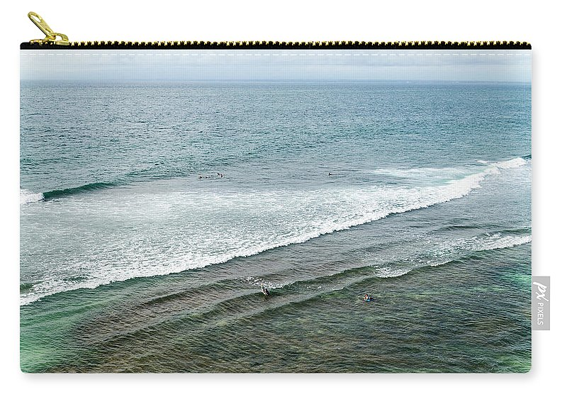 Tranquility Carry-all Pouch featuring the photograph Uluwatu, Bali by John Harper
