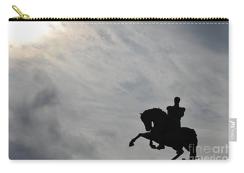 Unarmed Carry-all Pouch featuring the photograph Unarmed by Brian Boyle