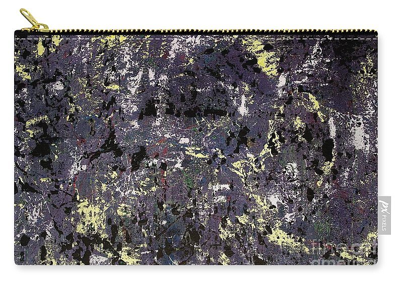 Abstract Carry-all Pouch featuring the painting Under Cover by Wayne Cantrell