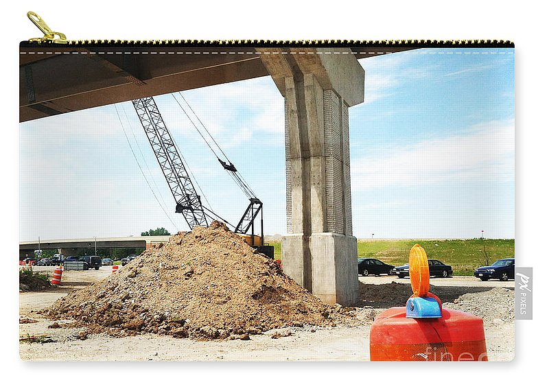 Jamie Lynn Gabrich Carry-all Pouch featuring the photograph Under Pass by Jamie Lynn