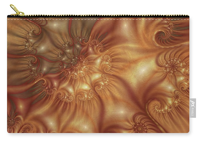 Digital Art Carry-all Pouch featuring the digital art Undercover by Gabiw Art