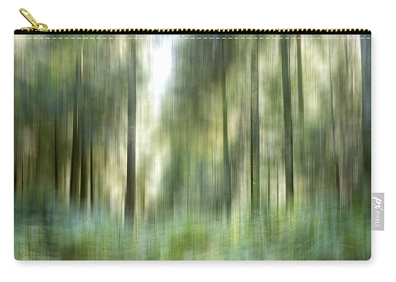 Conifer Carry-all Pouch featuring the photograph Undergrowth In Spring. by Bernard Jaubert