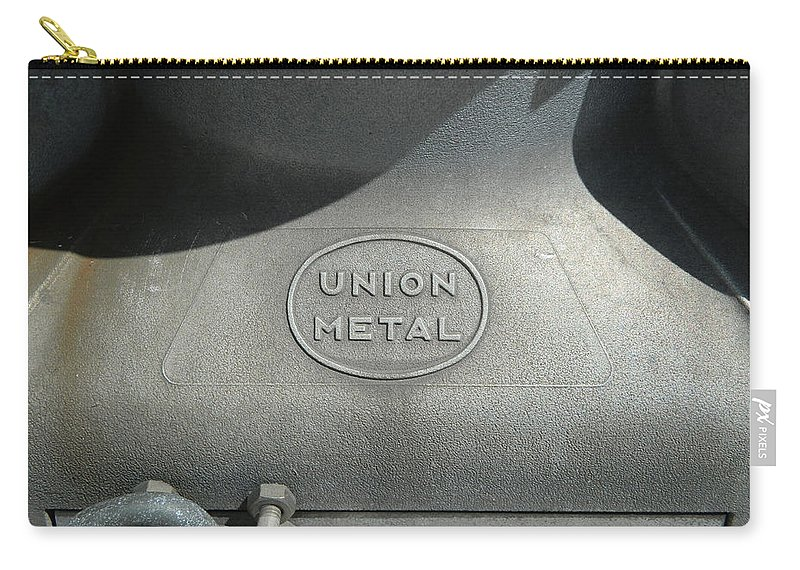 Union Carry-all Pouch featuring the photograph Union Metal by George Pedro
