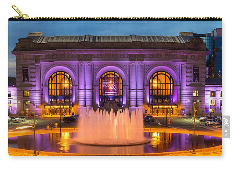 Union Station Carry-all Pouch featuring the photograph Union Station by Ken Kobe