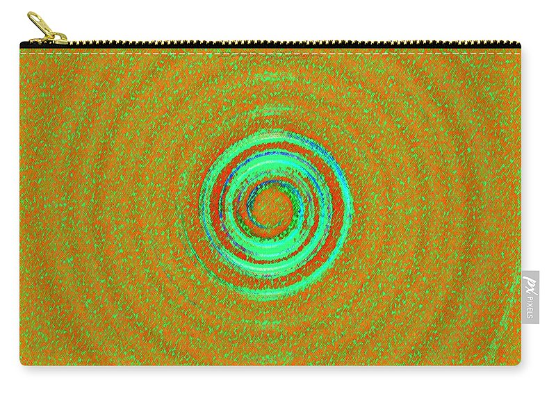 Meditation Carry-all Pouch featuring the digital art Universal Chakra by Sonali Gangane