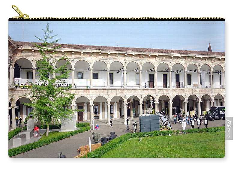 Ancient Carry-all Pouch featuring the photograph Universita' Statale Di Milano by Valentino Visentini