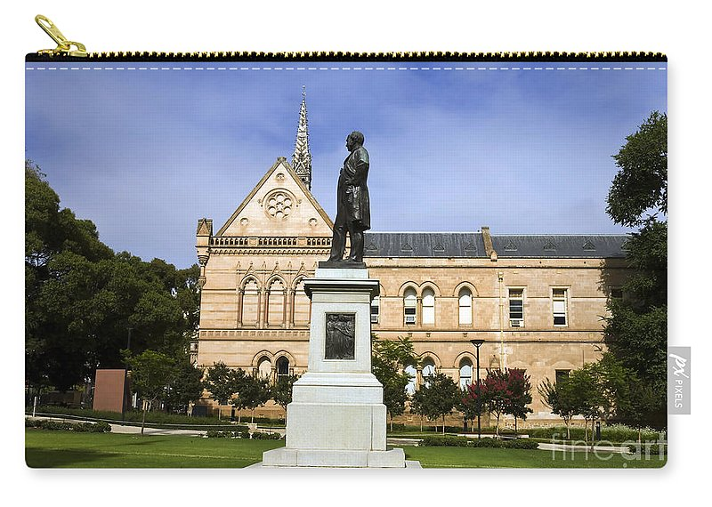 Travel Carry-all Pouch featuring the photograph University Of Adelaide by Jason O Watson