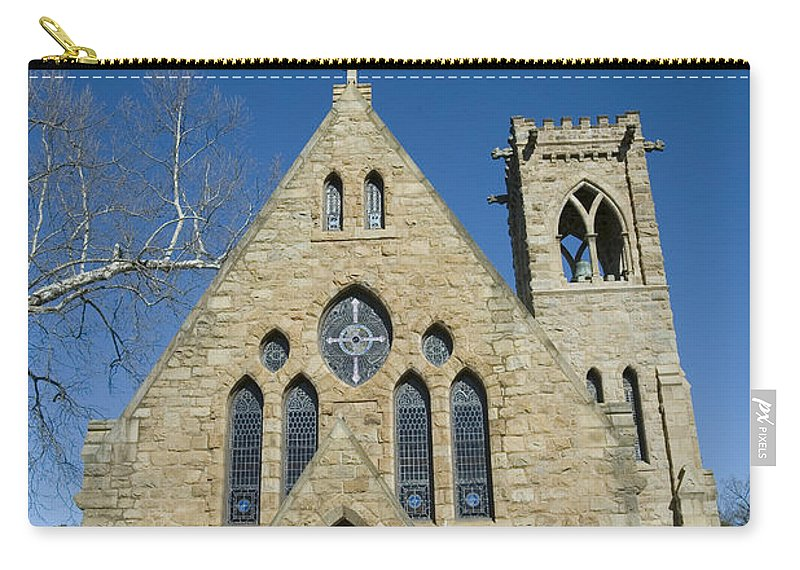 University Of Virginia Uva Charlottesville Virginia Carry-all Pouch featuring the photograph University Of Virginia Chapel by Jason O Watson