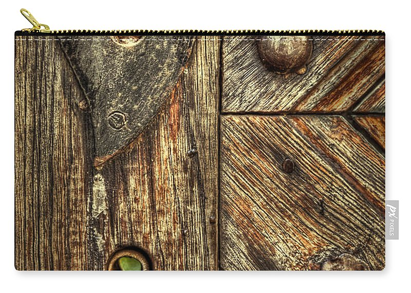 Wood Carry-all Pouch featuring the photograph Unlock My Heart by Evelina Kremsdorf