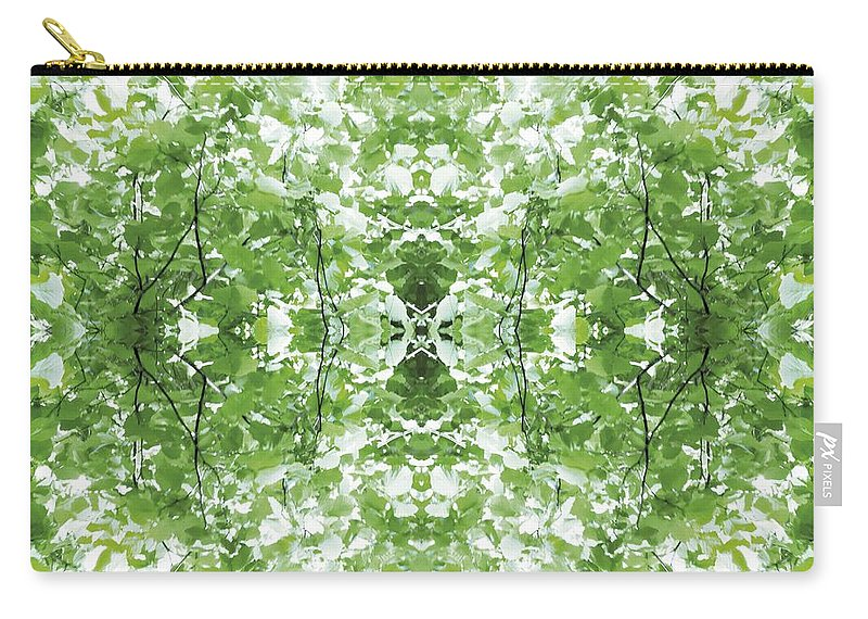 Kaleidoscopic Carry-all Pouch featuring the photograph Unnatural 34 by Giovanni Cafagna