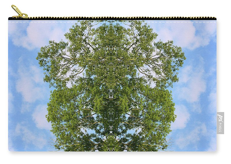 Kaleidoscopic Carry-all Pouch featuring the photograph Unnatural 46 by Giovanni Cafagna