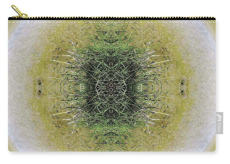 Kaleidoscopic Carry-all Pouch featuring the photograph Unnatural 6.1 by Giovanni Cafagna