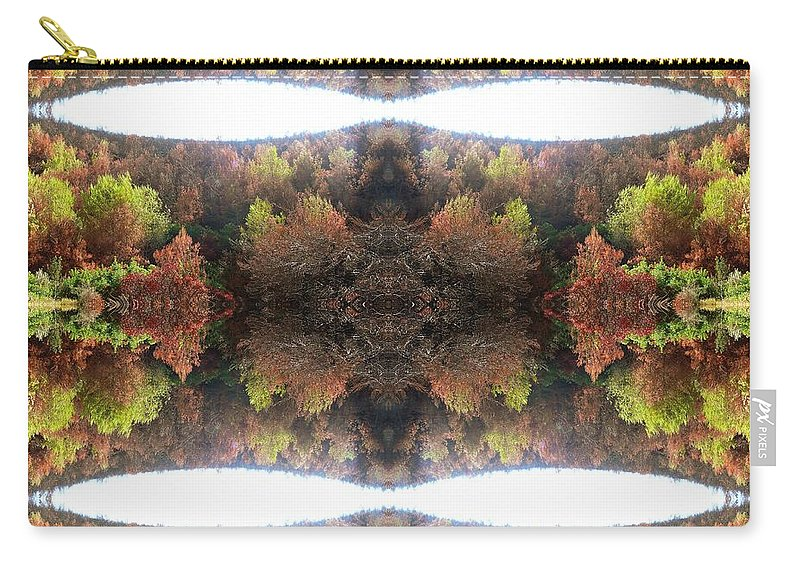 Kaleidoscopic Carry-all Pouch featuring the photograph Unnatural 77.1 by Giovanni Cafagna