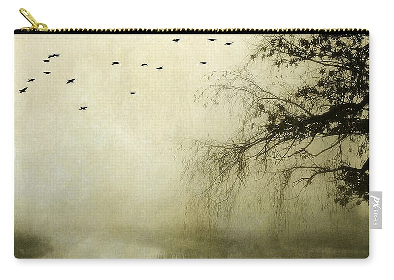 Tree Carry-all Pouch featuring the photograph Unspoken by Karen Lynch