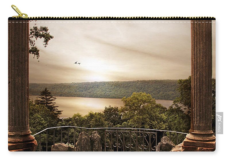 Nature Carry-all Pouch featuring the photograph Untermyer Views by Jessica Jenney