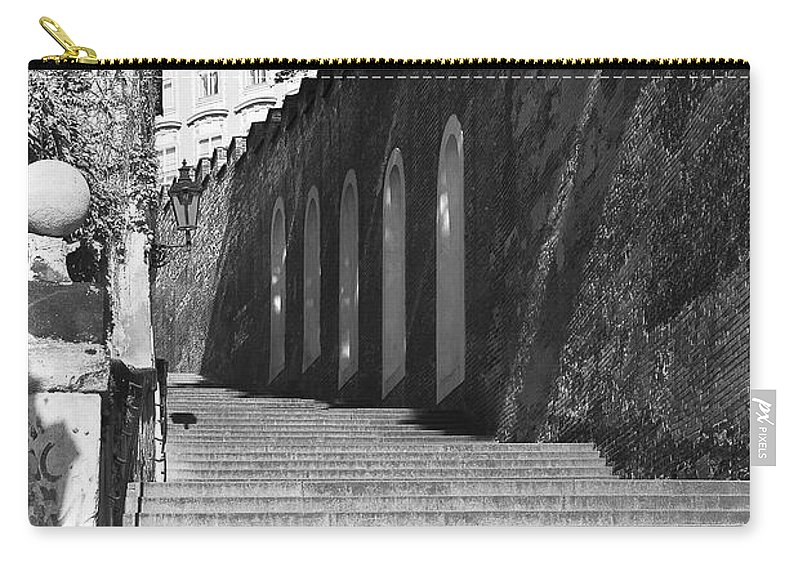 Photography Carry-all Pouch featuring the photograph Up - To Prague Castle by Ivy Ho