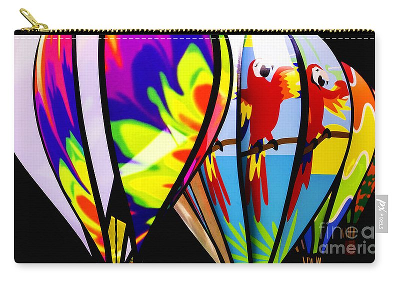 Balloon Carry-all Pouch featuring the photograph Up And Away V2 by Joe Geraci