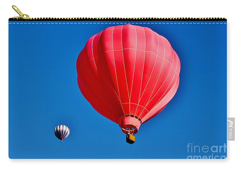Leisure Carry-all Pouch featuring the photograph Up Up And Away by Janice Pariza