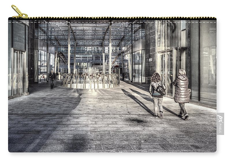 Desaturated Carry-all Pouch featuring the photograph Urban #1 by Roberto Pagani
