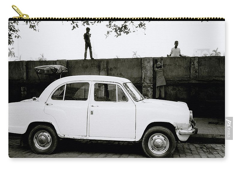 Surreal Carry-all Pouch featuring the photograph Urban Calcutta by Shaun Higson