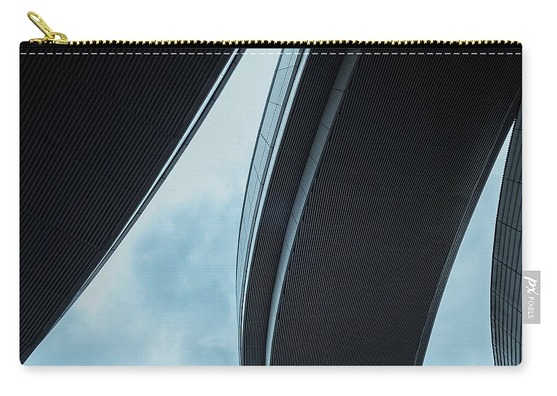 Curve Carry-all Pouch featuring the photograph Urban Structure by Sasaki Makoto