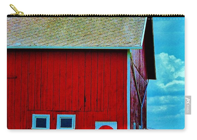 Ohio Carry-all Pouch featuring the photograph Us 2 Barn by Daniel Thompson