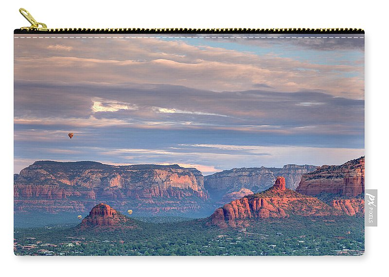 Scenics Carry-all Pouch featuring the photograph Usa, Arizona, Sedona by Michele Falzone