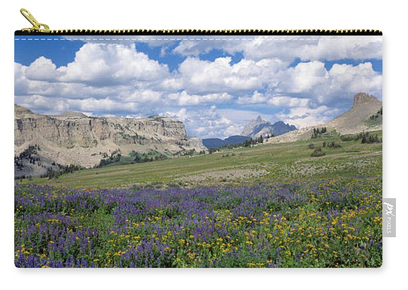 Photography Carry-all Pouch featuring the photograph Usa, Wyoming, Grand Teton Park by Panoramic Images