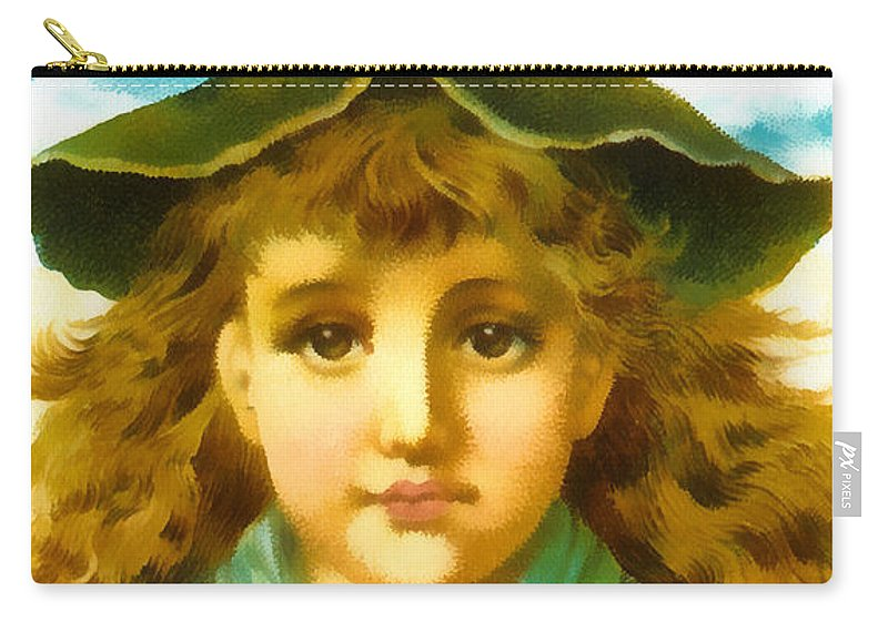 Vintage Trading Cards Carry-all Pouch featuring the digital art Use Acme Soap by Vintage Trading Cards