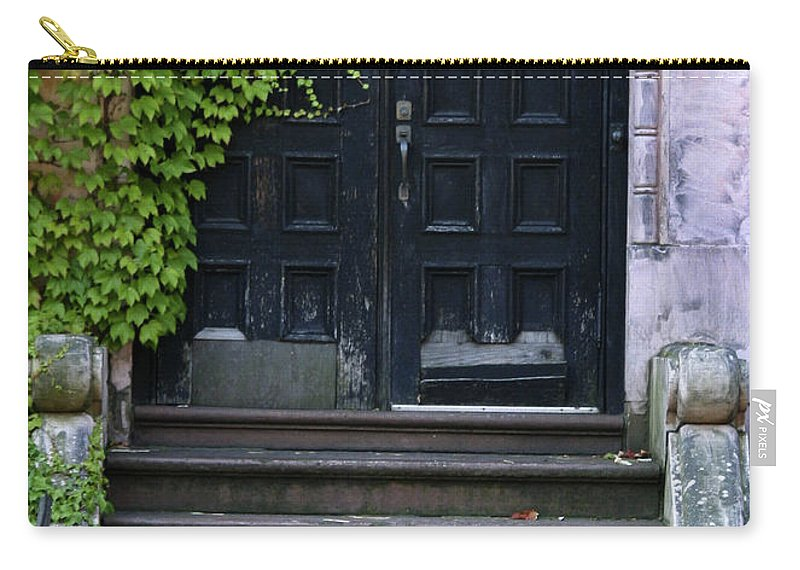 Ivy Carry-all Pouch featuring the photograph Use Other Door by Guy Shultz