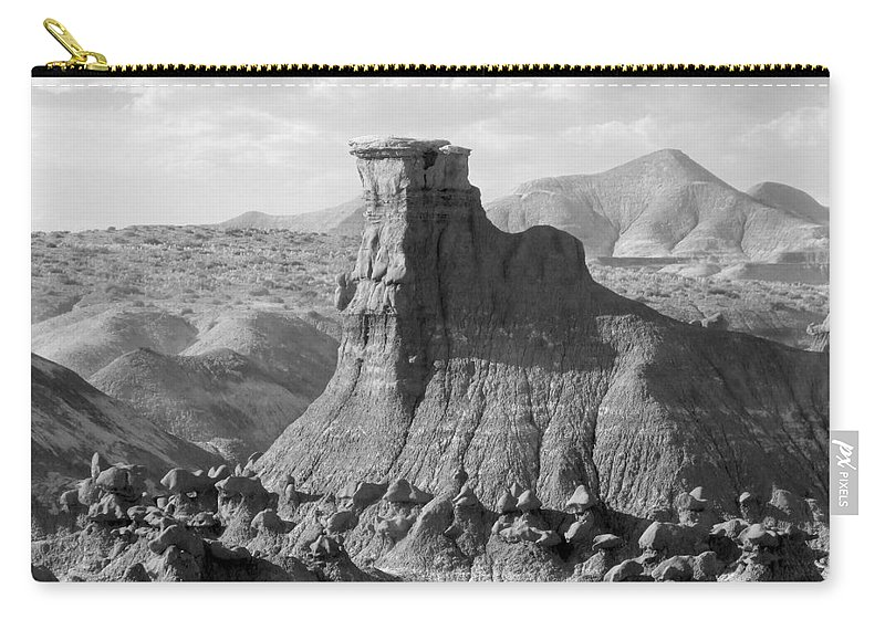 Landscape Carry-all Pouch featuring the photograph Utah Outback 18 by Mike McGlothlen