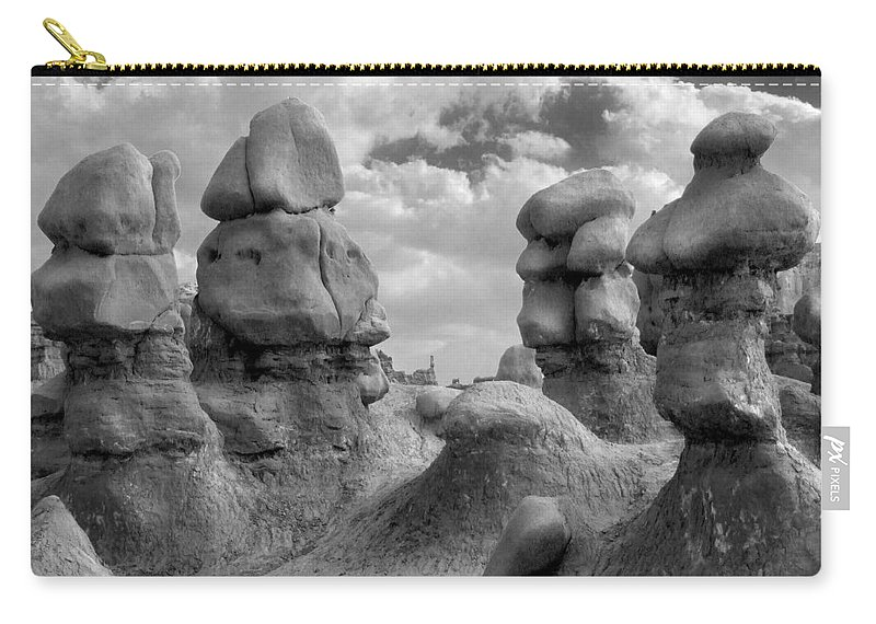 Utah Carry-all Pouch featuring the photograph Utah Outback 23 by Mike McGlothlen