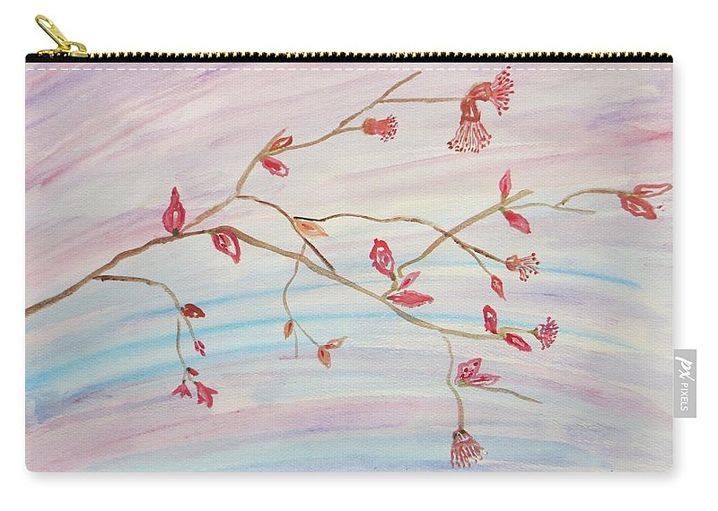 Vasant Carry-all Pouch featuring the painting Utsa by Sonali Gangane