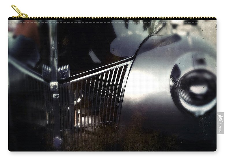 Classic Carry-all Pouch featuring the photograph V8 Grill by Tim Nyberg