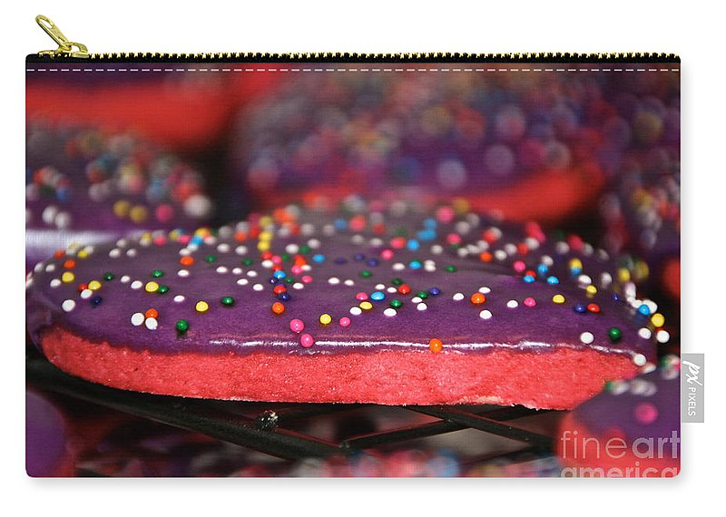 Cookies Carry-all Pouch featuring the photograph Valentine Treats Scratch Made by Susan Herber