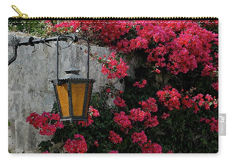 Bougainvillea Carry-all Pouch featuring the photograph Valletta by Joseph Yarbrough