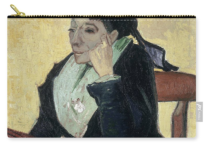 1888 Carry-all Pouch featuring the painting Van Gogh Larlesienne 1888 by Granger