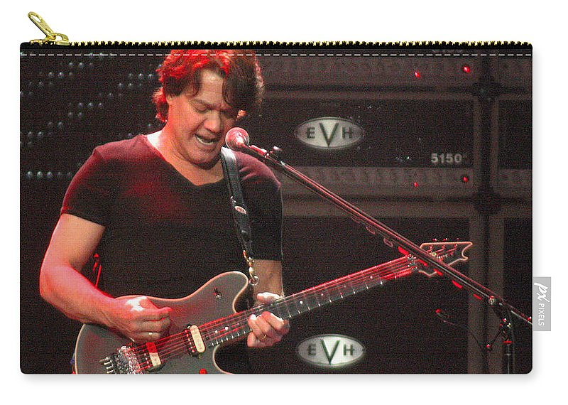 Van Halen Carry-all Pouch featuring the photograph Van Halen-7305b by Gary Gingrich Galleries