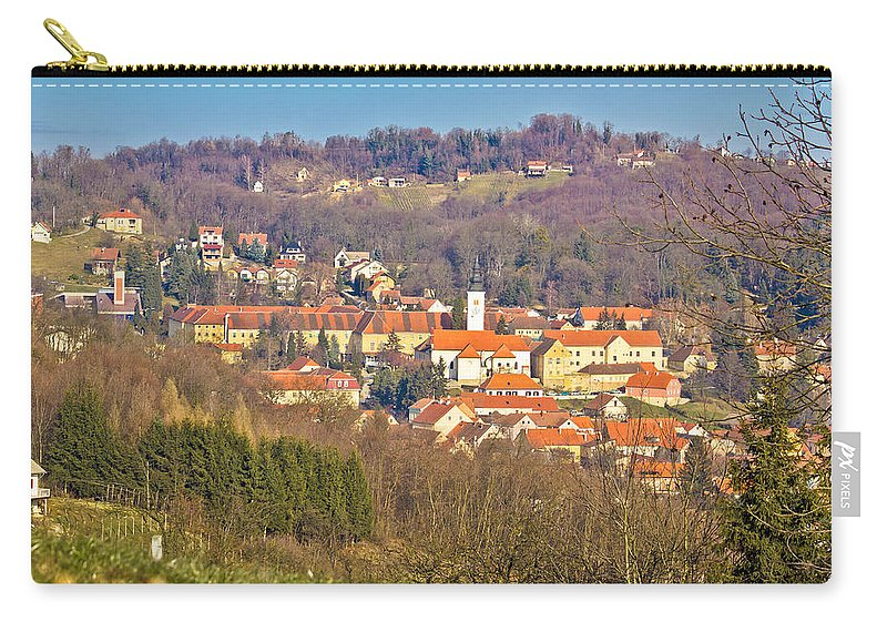 Croatia Carry-all Pouch featuring the photograph Varazdinske Toplice - Thermal Springs Town by Brch Photography
