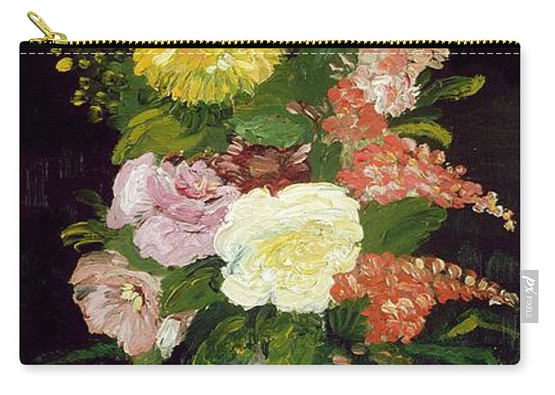 Van Gogh Carry-all Pouch featuring the painting Vase Of Flowers 1886 by Vincent  sc 1 st  Pixels & Vase Of Flowers 1886 Carry-all Pouch for Sale by Vincent van Gogh ...