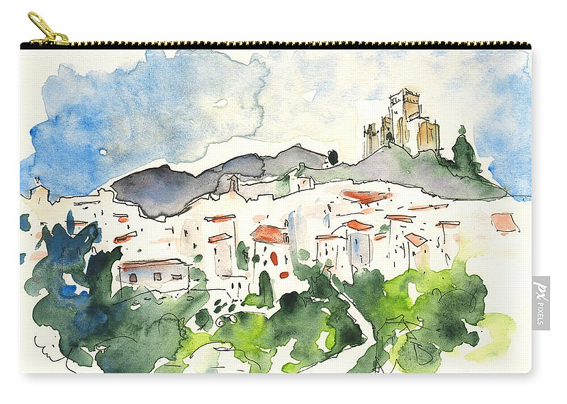 Travel Carry-all Pouch featuring the painting Velez Blanco 04 by Miki De Goodaboom