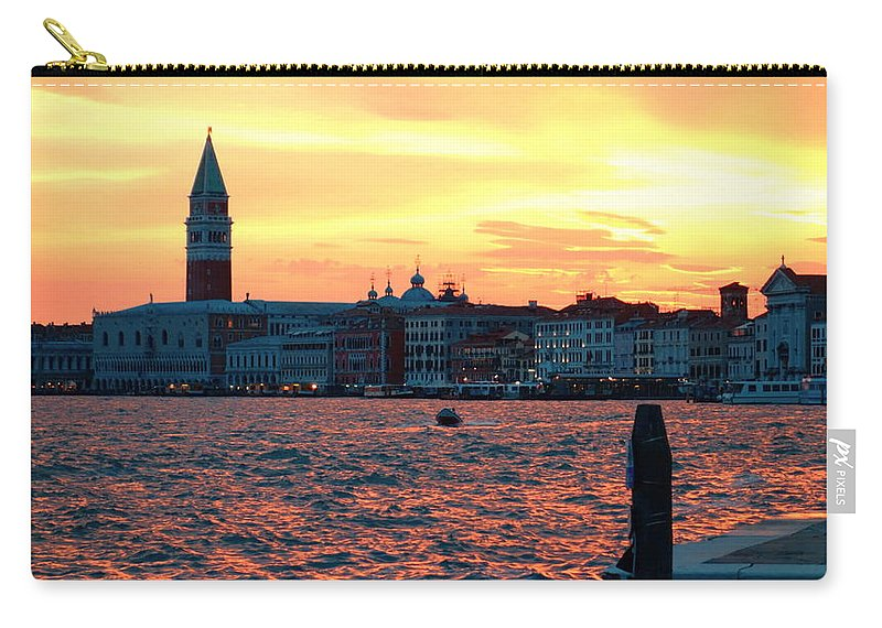 Venezia Carry-all Pouch featuring the photograph Venice Colors by Valentino Visentini