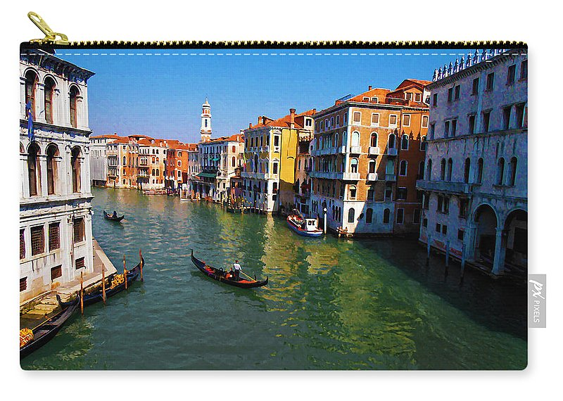 Venice Carry-all Pouch featuring the photograph Venice by Bill Cannon